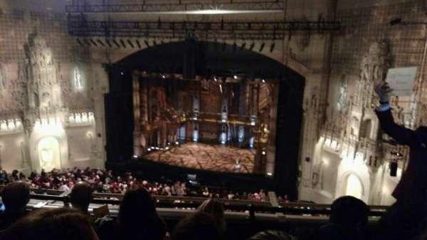 Orpheum Theatre (San Francisco), secção: Balcony, fila: D, lugar: 124