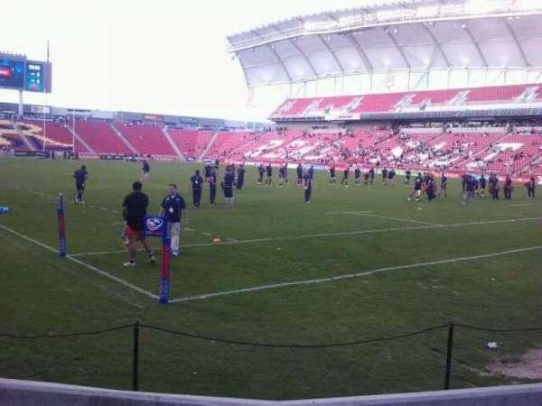 Rio Tinto Stadium, secção: 13, fila: D, lugar: 3