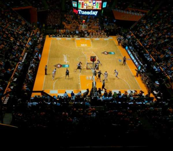 Thompson-Boling Arena, secção: 313