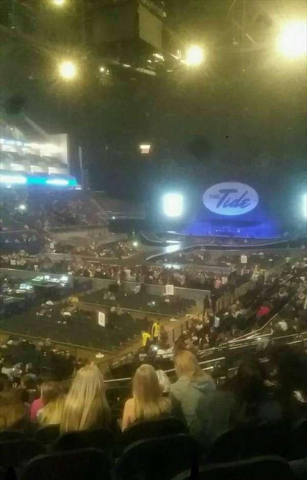 The O2 Arena, secção: 109, fila: W, lugar: 259