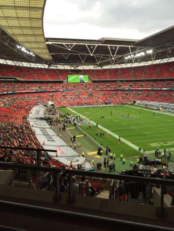 Wembley Stadium, secção: 233, fila: 10, lugar: 157