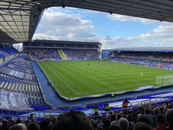 St Andrew's Stadium, secção: T15, fila: 34, lugar: 224