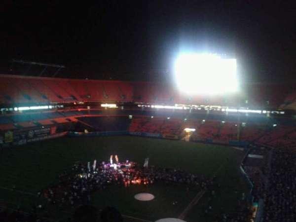 Hard Rock Stadium, secção: Old 452, fila: 17, lugar: 4