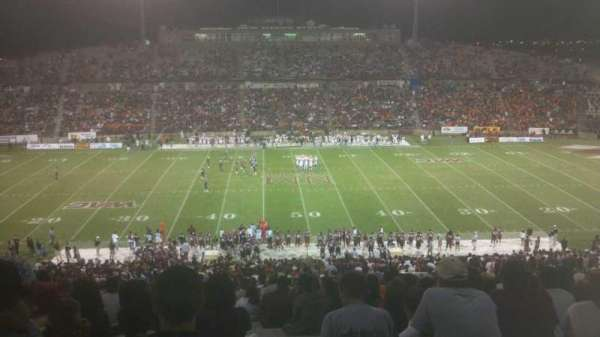 Aggie Memorial Stadium, secção: T