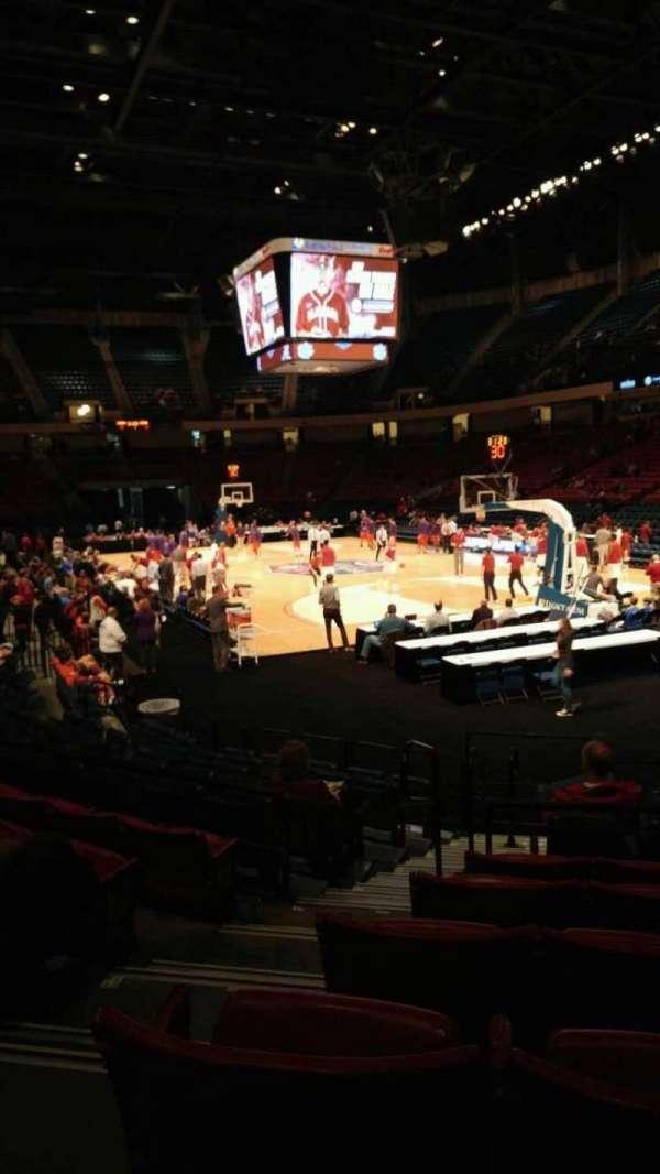 BJCC Arena, secção: 14L, fila: M, lugar: 2