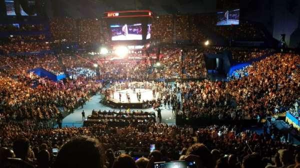 RAC Arena, secção: 304-1, fila: M, lugar: 10