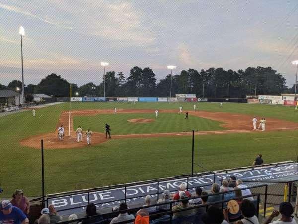 Burlington Athletic Stadium, secção: GA