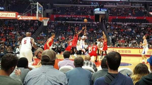 Staples Center, secção: 112, fila: 3, lugar: 8