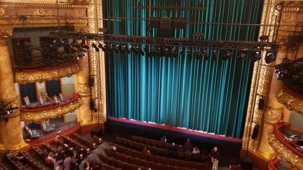 Emerson Colonial Theatre, secção: Balcony R, fila: A, lugar: 114