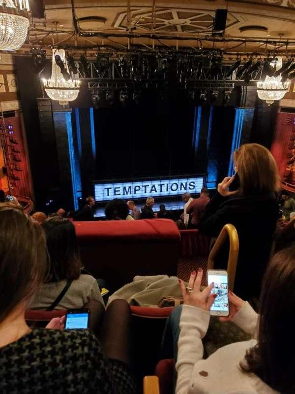 Imperial Theatre, secção: Rear Mezzanine 4, fila: E, lugar: 1-2