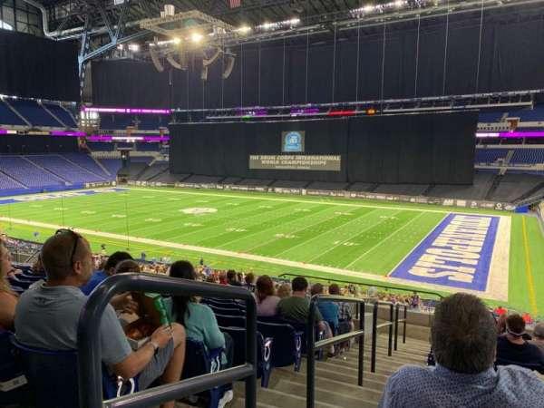 Lucas Oil Stadium, secção: 235, fila: 13, lugar: 31
