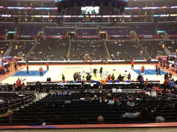 Staples Center, secção: PR5, fila: 2, lugar: 9