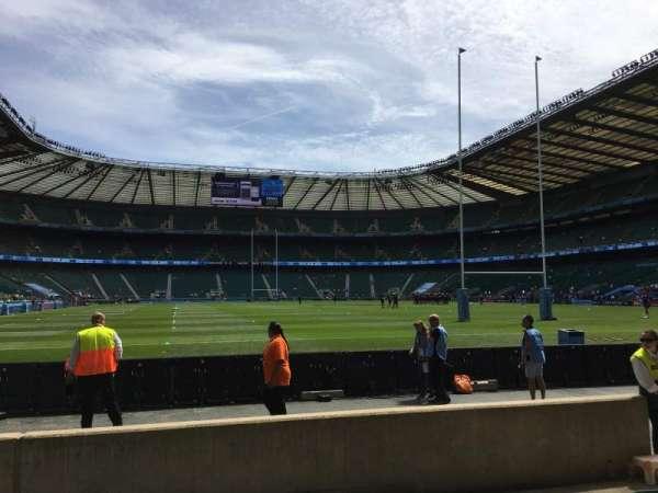 Twickenham Stadium, secção: L16, fila: 5, lugar: 175