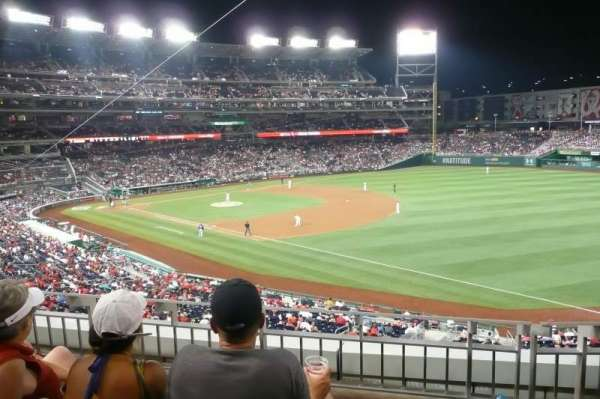 Nationals Park, secção: 227, fila: C, lugar: 10