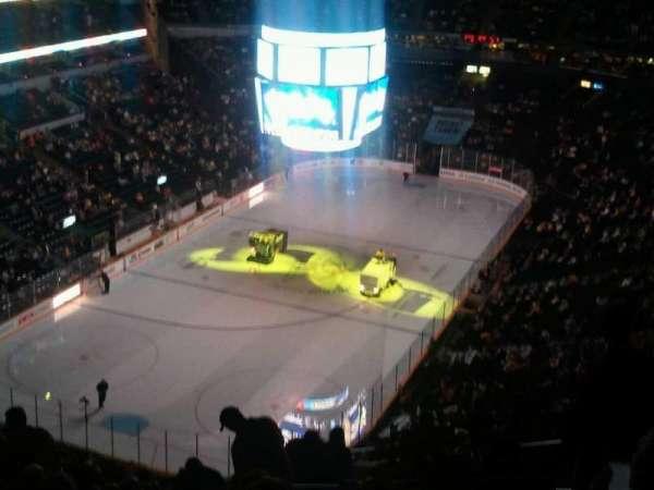 Bridgestone Arena, secção: 303, fila: R, lugar: 5