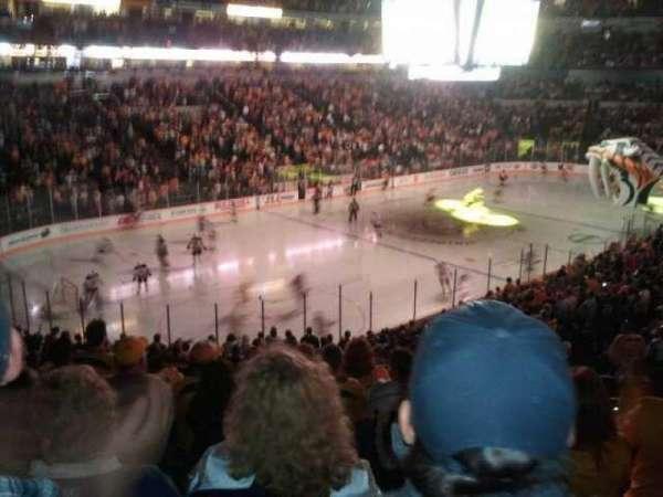 Bridgestone Arena, secção: 113, fila: N, lugar: 6