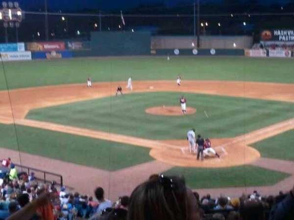 Herschel Greer Stadium, secção: MM, fila: 10, lugar: 3