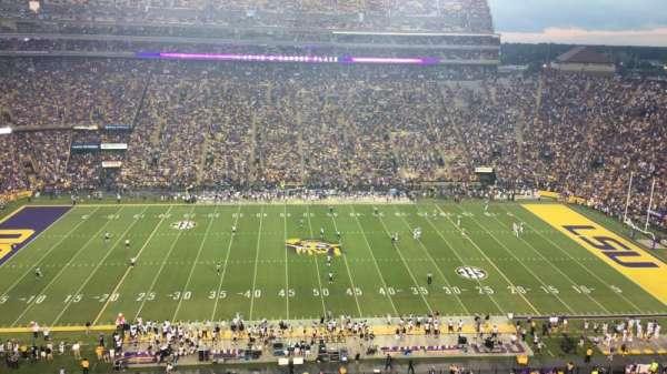 Tiger Stadium, secção: 536, fila: 1, lugar: 8