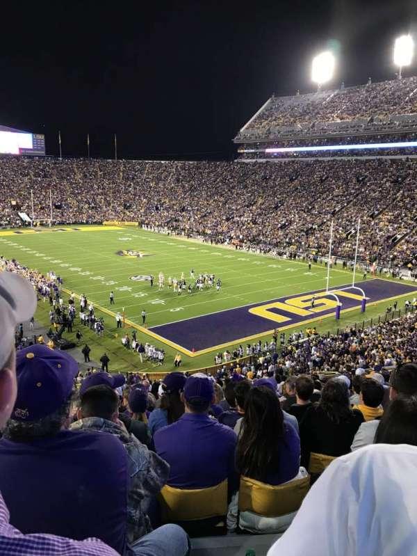 Tiger Stadium, secção: 420, fila: 20, lugar: 20