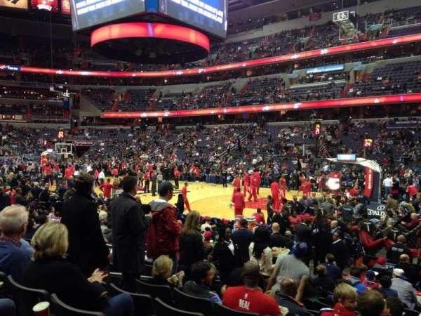 Capital One Arena, secção: 102, fila: L, lugar: 7