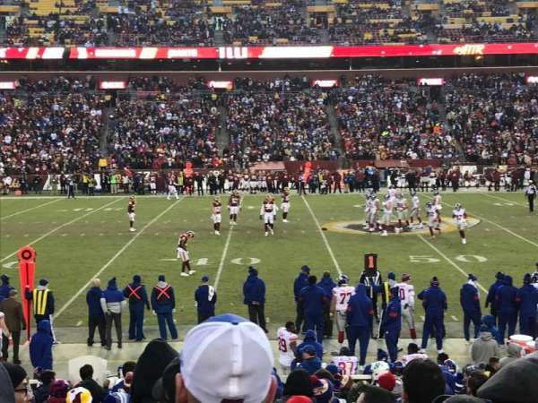 FedEx Field, secção: 122, fila: 17, lugar: 13