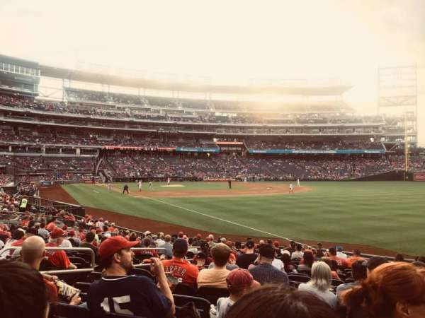 Nationals Park, secção: 136, fila: K, lugar: 21