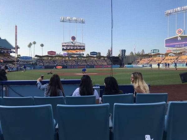 Dodger Stadium, secção: 1DH, fila: EE, lugar: 16