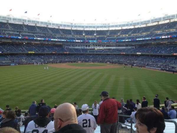 Yankee Stadium, secção: 239, fila: 15, lugar: 4