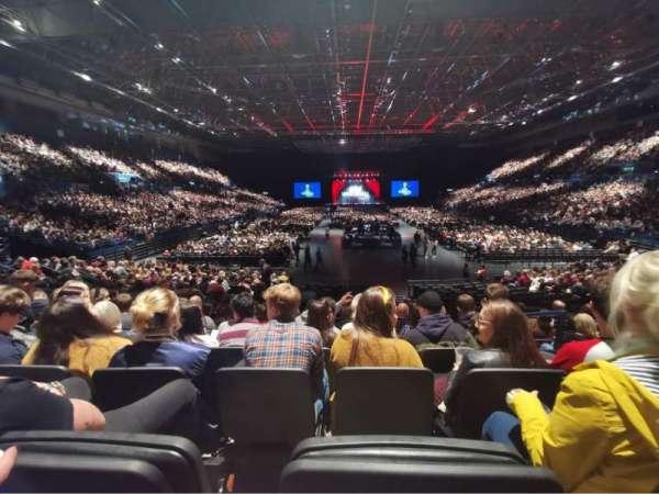 Arena Birmingham, secção: 7 Lower, fila: S, lugar: 277