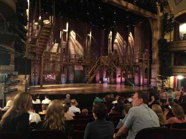 Richard Rodgers Theatre, secção: Orchestra L, fila: L, lugar: 19