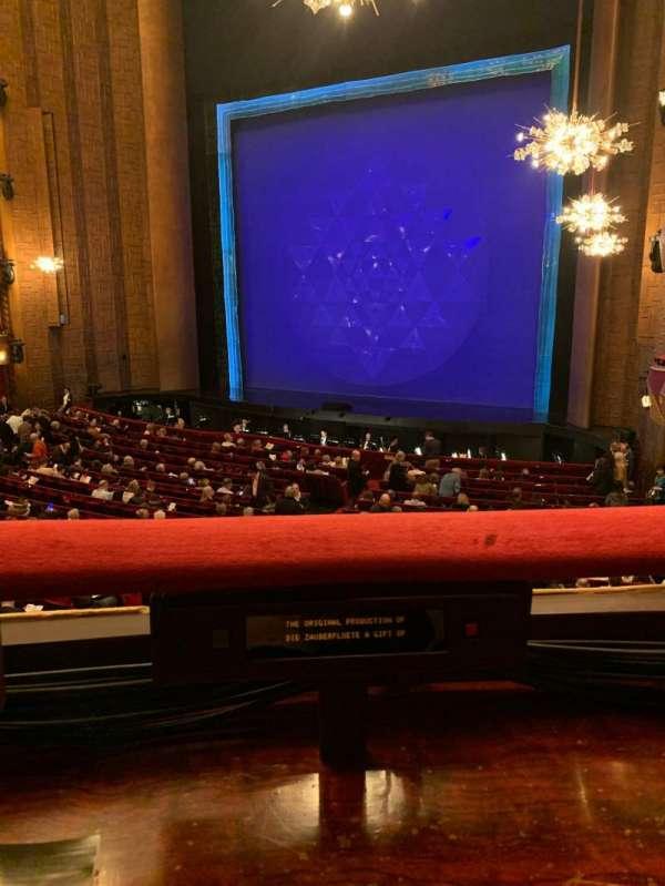 Metropolitan Opera House - Lincoln Center, secção: Parterre 16, fila: 1, lugar: 2
