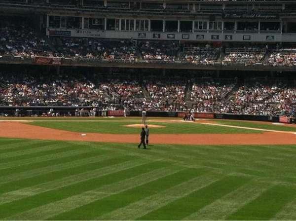 Yankee Stadium, secção: 238, fila: 1, lugar: 11