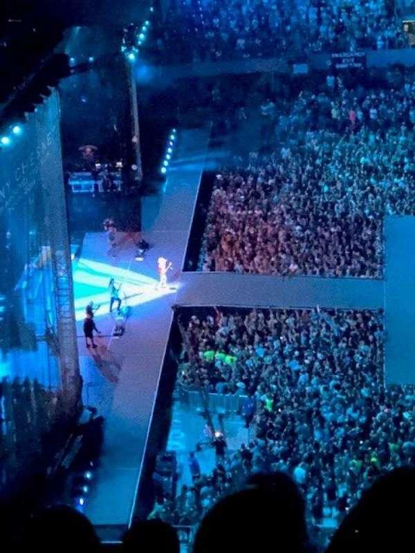 MetLife Stadium, secção: 340, fila: Last, lugar: 16