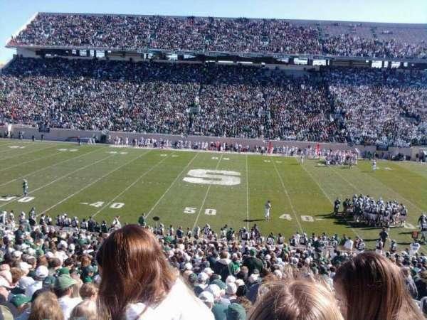 Spartan Stadium, secção: 23, fila: 38