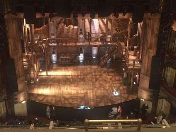 CIBC Theatre, secção: Balcony lc, fila: E, lugar: 411