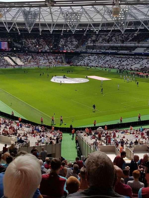 London Stadium, secção: 245, fila: 52, lugar: 159