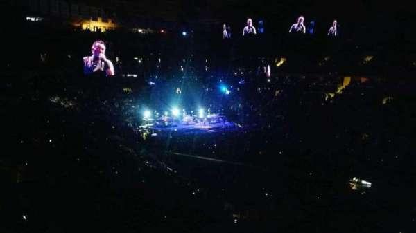 Madison Square Garden, secção: 227, fila: 1, lugar: 18