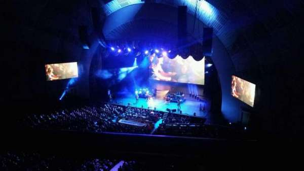 Radio City Music Hall, secção: 3rd Mezzanine 2, fila: A, lugar: 205