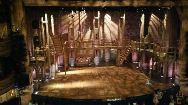 Richard Rodgers Theatre, secção: Front Mezzanine C, fila: A, lugar: 113