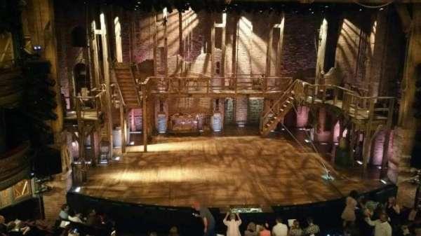 Richard Rodgers Theatre, secção: Front Mezzanine C, fila: A, lugar: 112