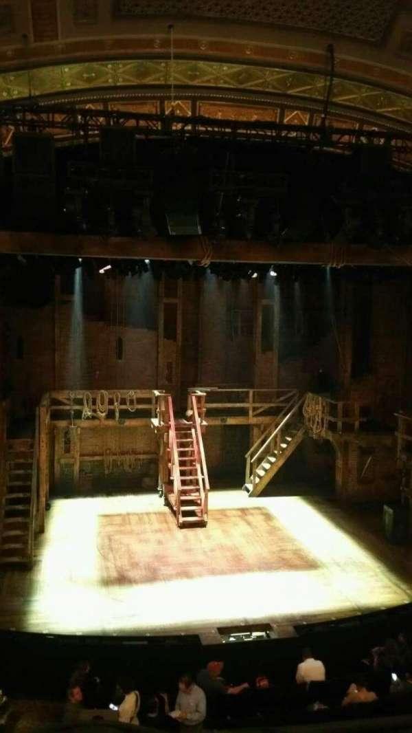 Richard Rodgers Theatre, secção: Front Mezzanine C, fila: A, lugar: 114