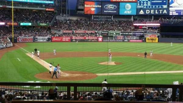 Yankee Stadium, secção: 118S, fila: 17S, lugar: 9