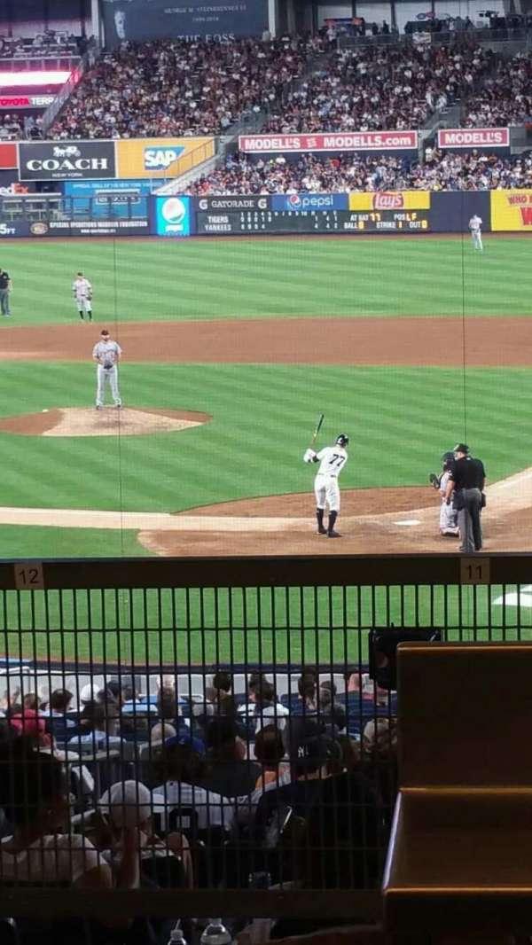 Yankee Stadium, secção: 121BS, fila: 17S, lugar: 9