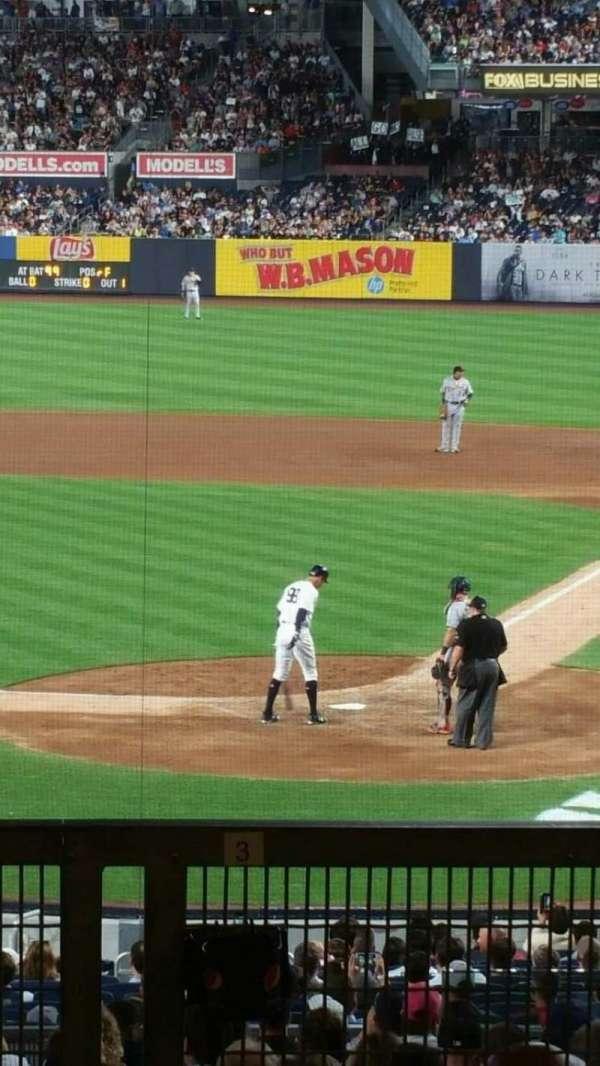 Yankee Stadium, secção: 121BS, fila: 17S, lugar: 2