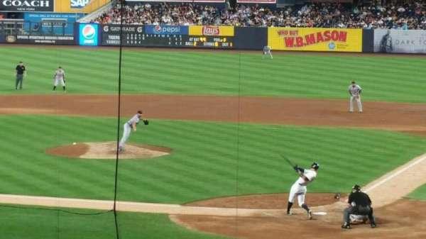 Yankee Stadium, secção: 121BS, fila: 17S , lugar: 2