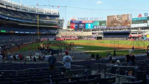 Yankee Stadium, secção: 118, fila: 10, lugar: 4