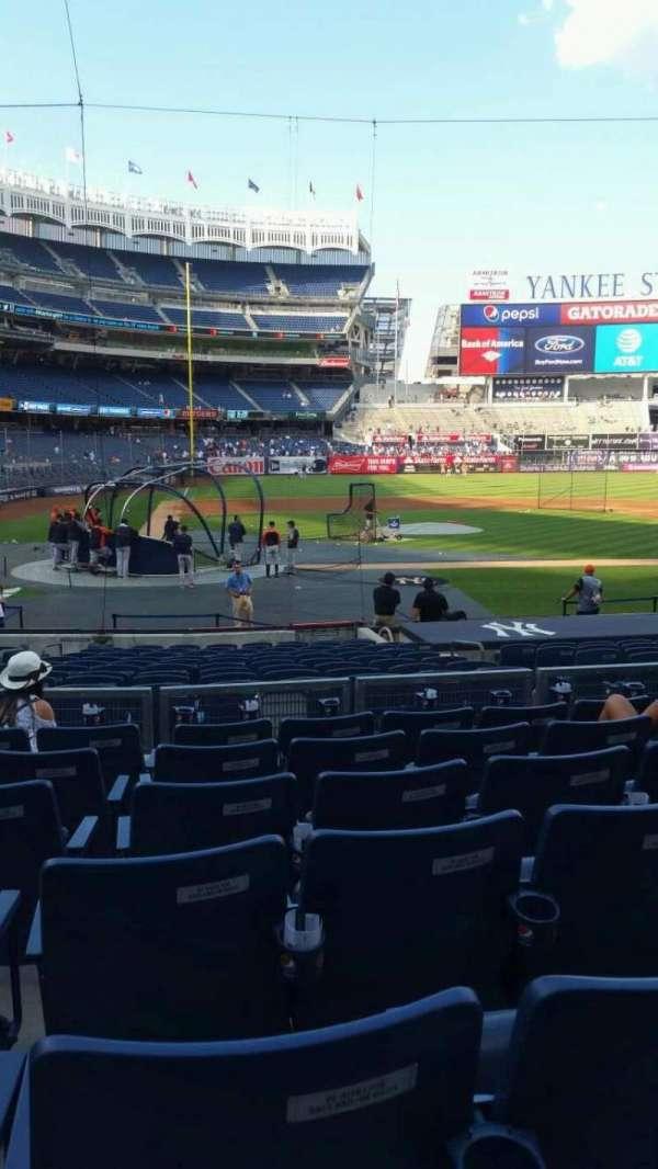 Yankee Stadium, secção: 117B, fila: 7, lugar: 8