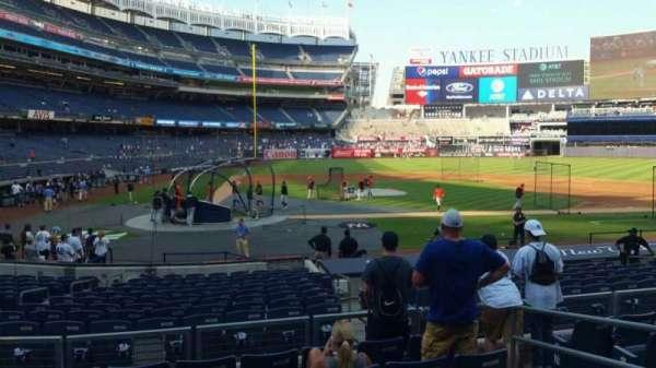 Yankee Stadium, secção: 117B, fila: 7, lugar: 5