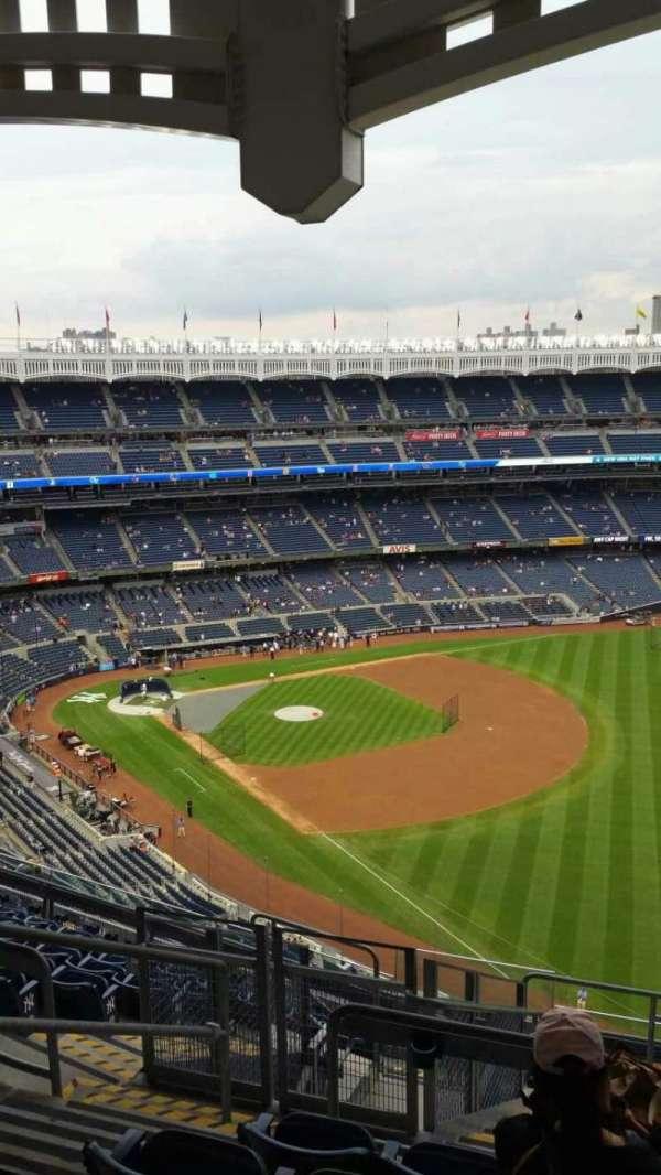 Yankee Stadium, secção: 409, fila: 11, lugar: 20
