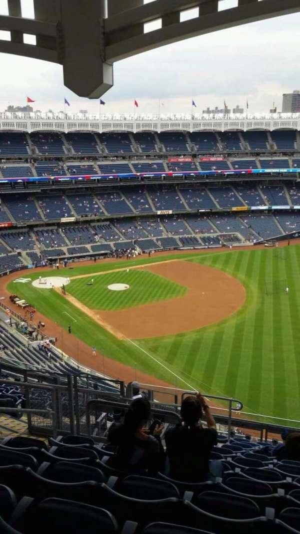 Yankee Stadium, secção: 409, fila: 12, lugar: 19